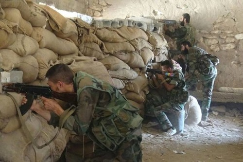 Quan doi Syria giai phong them 3 quan trong thanh pho Deir Ezzor