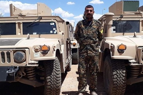 "My dang choi ""con bai nguoi Kurd"" chia cat Syria"