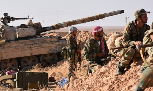 Quan doi Syra giai phong hoan toan phia tay bac Deir Ezzor