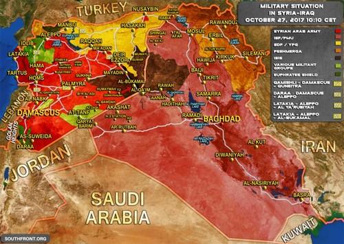 Iraq va Syria hop luc danh khung bo IS