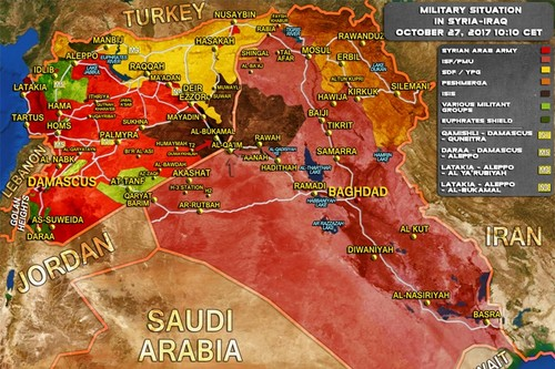 Syria: SAA va SDF chay dua tien danh thanh pho al-Bukamal-Hinh-2