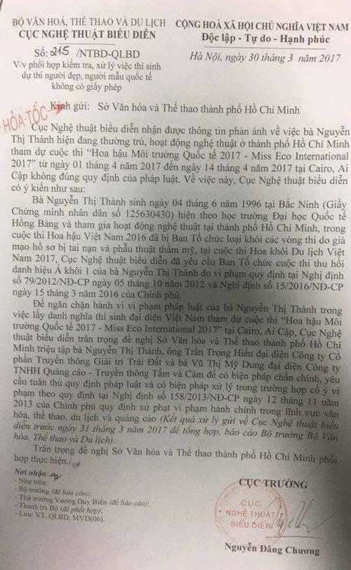 """Nguyen Thi Thanh bi trieu tap hoa toc vi """"thi chui""""-Hinh-2"""