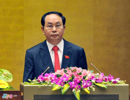 Chu tich nuoc: Viet Nam dac biet coi trong hop tac voi Trung Quoc