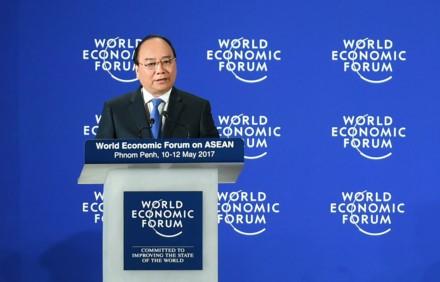 Viet Nam nhan chuong chu nha WEF ASEAN 2018