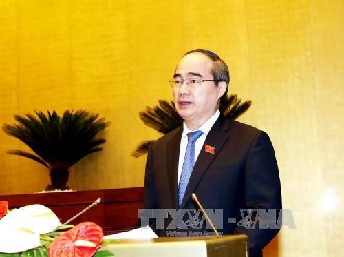 Ong Nguyen Thien Nhan duoc bau lam Truong doan DBQH TPHCM