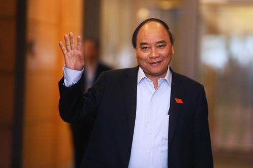 Thu tuong Nguyen Xuan Phuc tham chinh thuc Hoa Ky