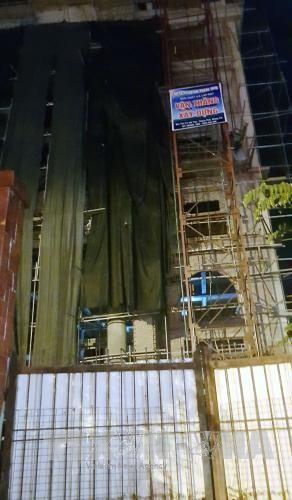 Quang Ninh: Thang may dut cap, 7 nguoi bi thuong