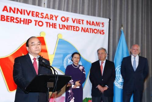 Thu tuong Nguyen Xuan Phuc du le ky niem 40 nam VN gia nhap LHQ