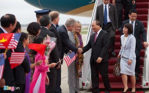 Thu tuong Nguyen Xuan Phuc toi Washington DC-Hinh-2