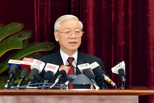 Tong Bi thu: Giu cho duoc hoa binh, on dinh de phat trien