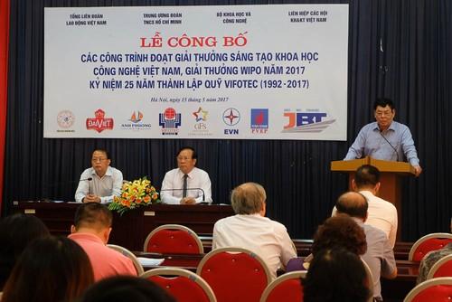 Lien hiep hoi VN cong bo giai thuong sang tao KHCN Viet Nam 2017-Hinh-2