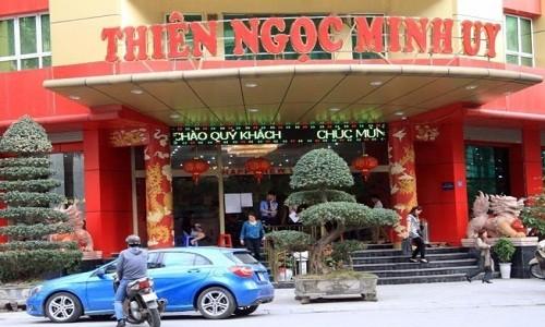 Canh sat dieu tra vao cuoc vu Thien Ngoc Minh Uy