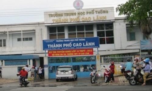 Nguyen nhan bat ngo vu lo de thi o Dong Thap