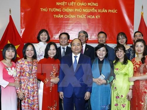 Thu tuong Nguyen Xuan Phuc ket thuc tot dep chuyen tham Hoa Ky