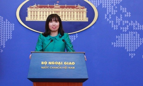 Viet Nam phan ung ve phat bieu gay ton thuong cua Tong thong Han Quoc