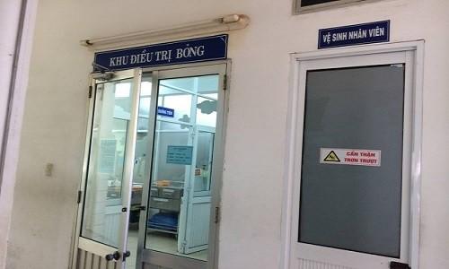 Phong ngu dot nhien boc chay, doi nam nu thuong vong