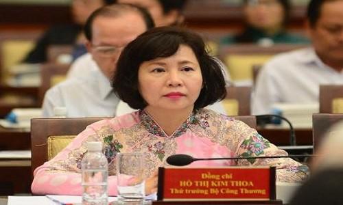 Don xin nghi viec cua TT Ho Thi Kim Thoa duoc giai quyet the nao?