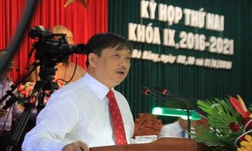 Mien nhiem Pho Chu tich TP Da Nang Dang Viet Dung