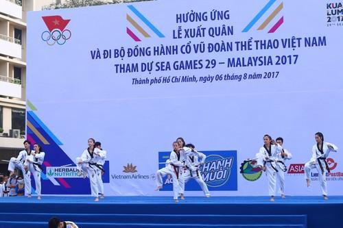 "Hang ngan nguoi ""phu xanh"" pho di bo co vu Doan The thao Viet Nam-Hinh-2"