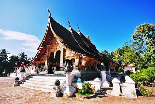 Luang Prabang, thanh pho cua nhung ngoi chua vang linh thieng