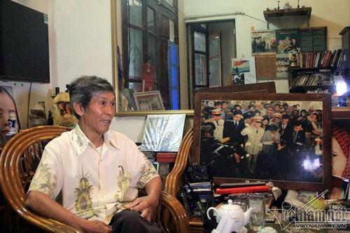 Bua com voi hai qua trung cua vo chong Tuong Giap