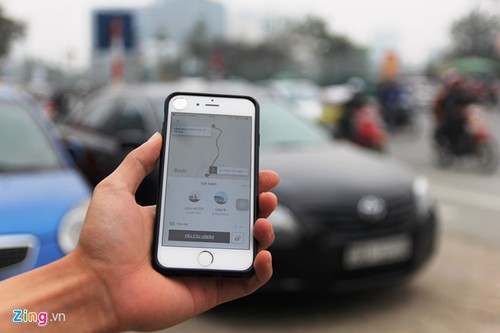 Bac bo tin don Uber tam dung hoat dong tai Viet Nam