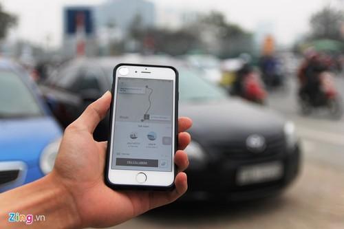 Uber sap tang gia manh tai Ha Noi va TP.HCM