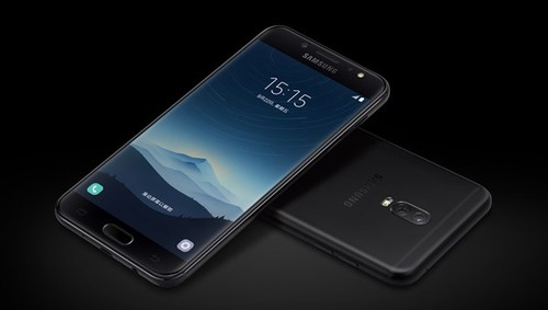 Samsung ra mat smartphone camera kep Galaxy C8
