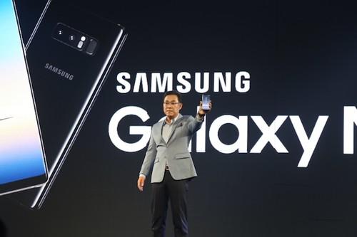 Samsung cong bo gia va ngay len ke cua Galaxy Note8 tai Viet Nam