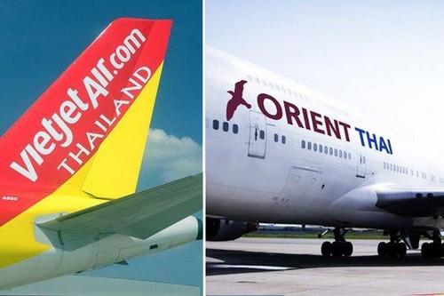 Vietjet Air Thai Lan bi ngung bay chang quoc te