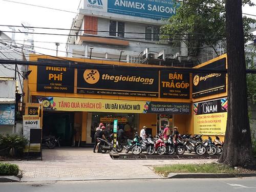 """The Gioi Di Dong dong cua hang dau tien thoi """"khai thien lap dia"""""""