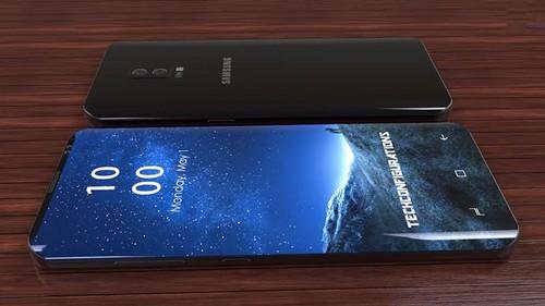 """Galaxy S9 se duoc trang bi camera """"de bep"""" iPhone X"""