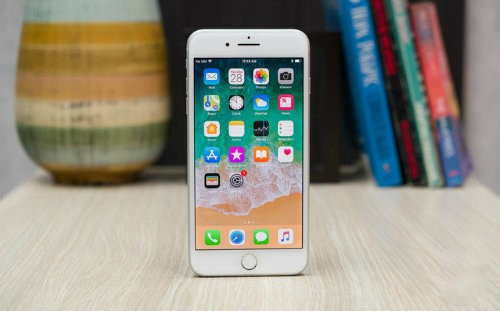 iPhone 8 Plus cong kenh, nang nhat trong cac iPhone