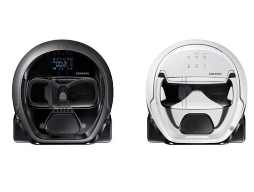 Samsung ra mat robot hut bui phien ban Star Wars