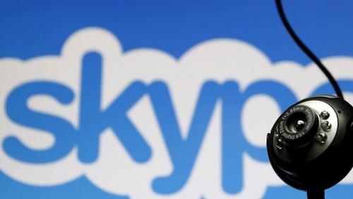 Den luot Skype bi chan o Trung Quoc