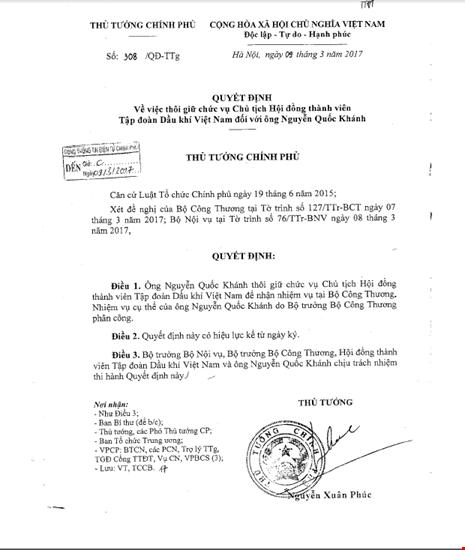 Rut Chu tich PVN Nguyen Quoc Khanh ve Bo Cong Thuong-Hinh-2