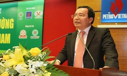 Rut Chu tich PVN Nguyen Quoc Khanh ve Bo Cong Thuong