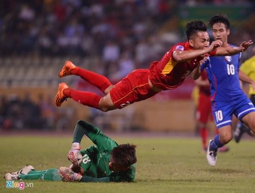 DT Viet Nam 1-1 Dai Bac (Trung Hoa): Hang cong thieu hieu qua-Hinh-3