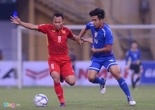 DT Viet Nam 1-1 Dai Bac (Trung Hoa): Hang cong thieu hieu qua