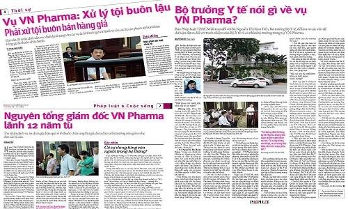 """Vu VN Pharma: Phai lam ro nhung """"goc khuat"""""""