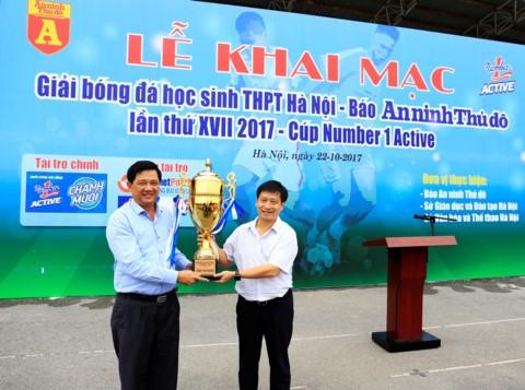 THPT Ly Thuong Kiet dat chi tieu vo dich giai bong da THPT Ha Noi