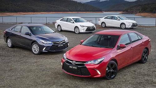 Toyota Camry: Mau sedan ban chay nhat thi truong My