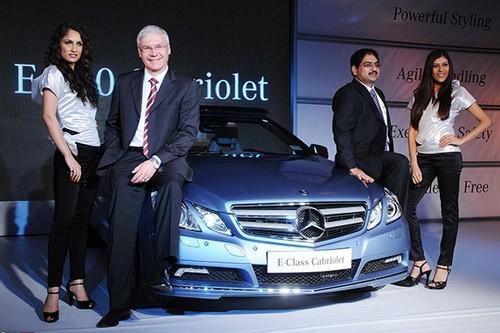 Mercedes-Benz dat doanh so ky luc tai thi truong An Do
