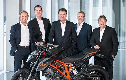 Hang xe KTM dat doanh thu 1,1 ty USD trong nam 2015