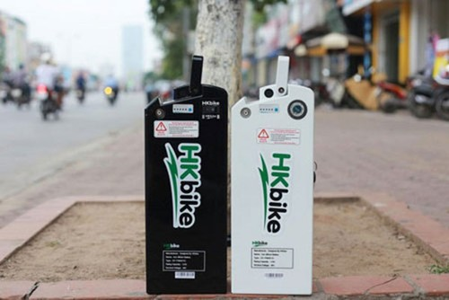 Nghi van xe dap dien HKBike phat no: no do pin Lithium?