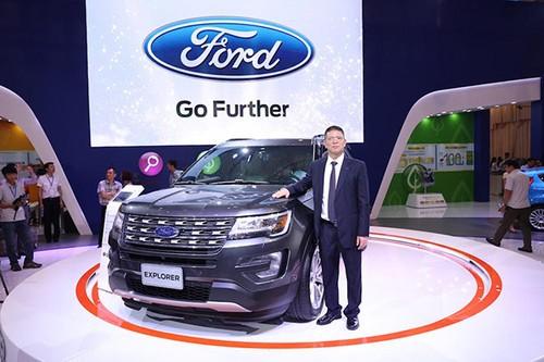 Ford Viet Nam ban duoc hon 2000 oto trong thang 9/2016