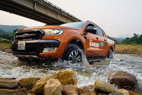 Gan 15.000 xe Ford Ranger dinh loi tai Viet Nam