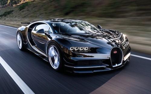 Xem sieu xe Bugatti Chiron len 350 km/h trong nhay mat