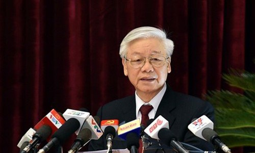 "Tong Bi thu: ""Ky luat ong Dinh La Thang la bai hoc sau sac"""