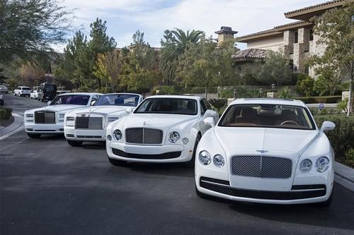 Dan xe sieu sang Rolls-Royce tri 3 trieu do cua Mayweather